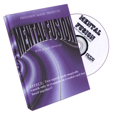 Mental Fusion by Jeremy Moncrief - DVD - Available at pipermagic.com.au