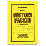 Factory Packed - Illusioncraft - Available at pipermagic.com.au