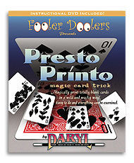 Presto Printo (with DVD) by Daryl - Available at Piper Magic Australia