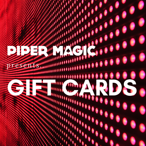 Piper Magic Gift Card - Available at pipermagic.com.au