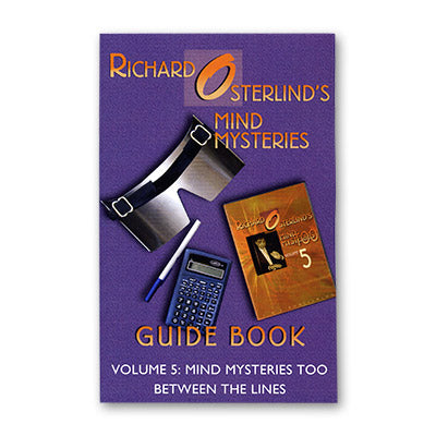 Mind Mysteries Guide Book Vol. 5 by Richard Osterlind