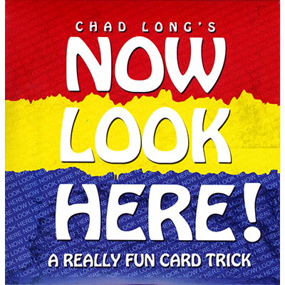 Now Look Here (DVD and Cards) by Chad Long - Available at pipermagic.com.au
