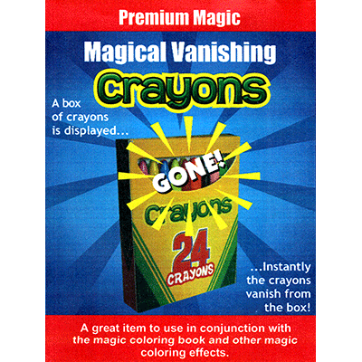 Magical Vanishing Crayons by Premium Magic - Available at pipermagic.com.au