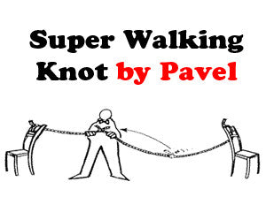 Pavel's Super Walking Knot