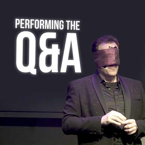 Performing the Q&A by Gerry McCambridge - BOOK PROMO