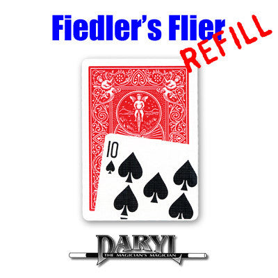 REFILL Fiedler's Flier (10S - Red Back) by Daryl - Available at pipermagic.com.au