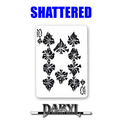 Shattered by Daryl - Available at pipermagic.com.au