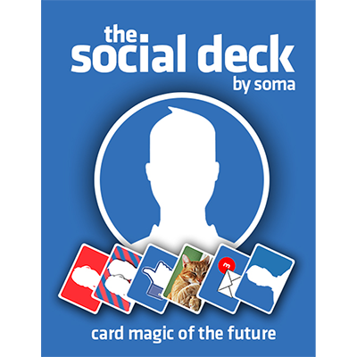 The Social Deck (DVD and Gimmick) by Soma - Available at pipermagic.com.au
