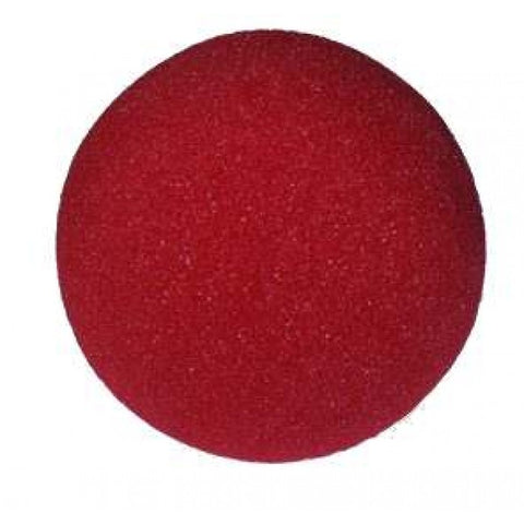 5 inch Super Soft Sponge Ball (Red) from Magic by Gosh - Available at pipermagic.com.au