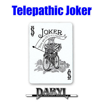 Telepathic Joker by Daryl - Available at pipermagic.com.au
