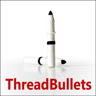 Fearson's Thread Bullets - Available at pipermagic.com.au