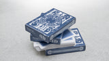 Smoke & Mirrors (BLUE/v5) Playing Cards by Dan and Dave - 1st Print