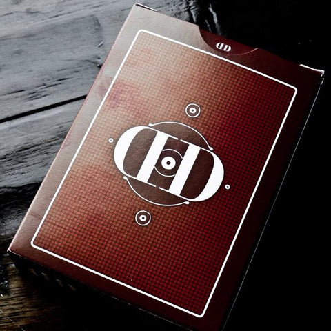 Smoke & Mirrors (RED/v6) Playing Cards by Dan and Dave - 1st Print