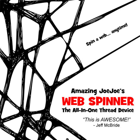 Web Spinner - Amazing JoeJoe - Available at pipermagic.com.au