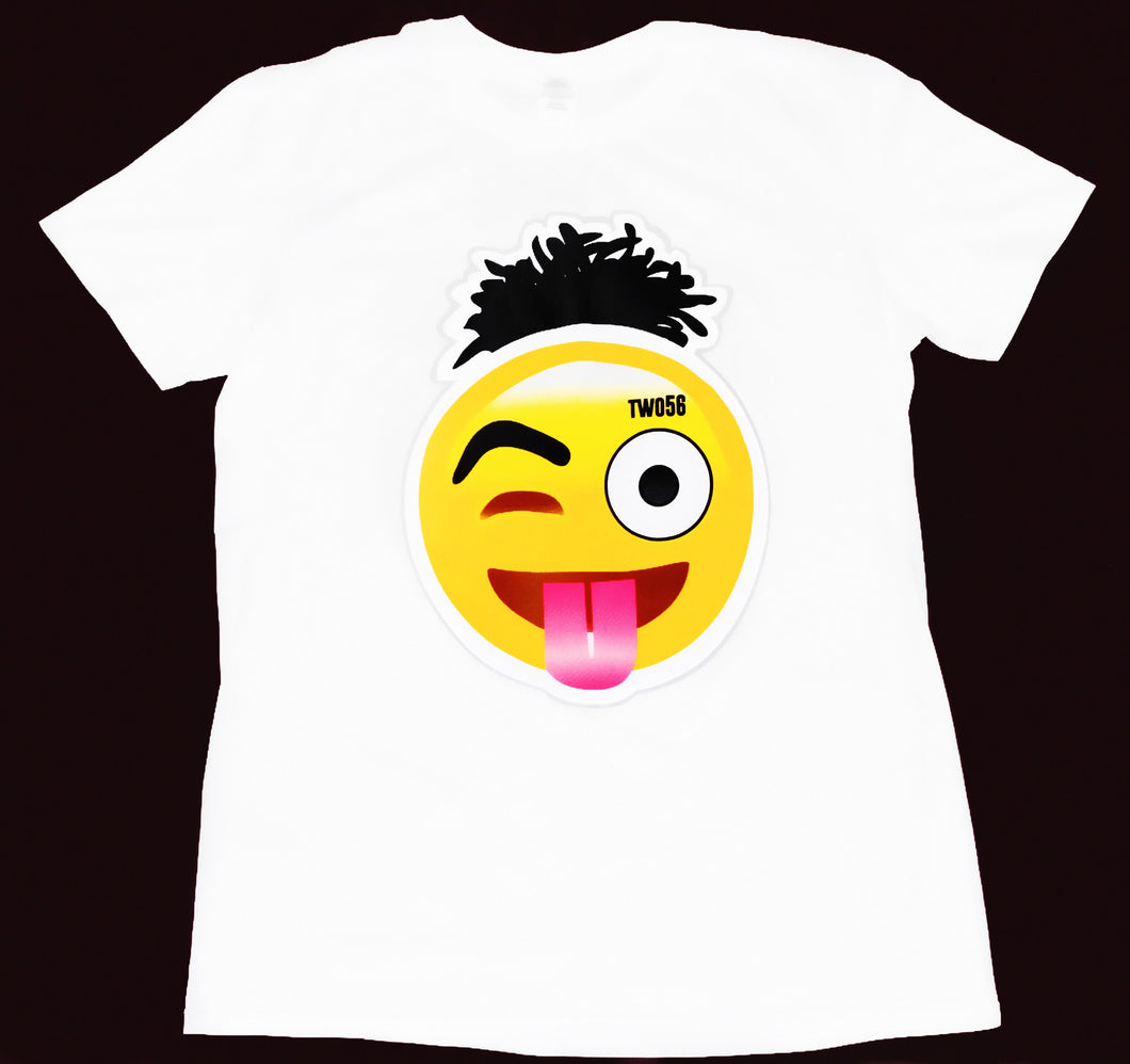 Hair-Moji T-Shirt White