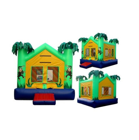 JUNGLE THEME BOUNCE HOUSE