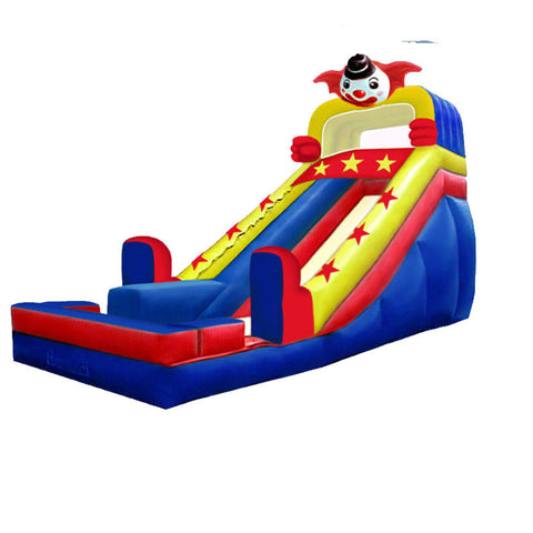 FRONT LOAD CLOWN'N AROUND SLIDE