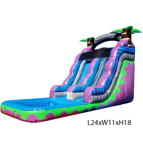 35% OFF BlackFriday - 18ft Water Slide #585