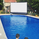 40ft SILENT INFLATABLE MOVIE SCREEN