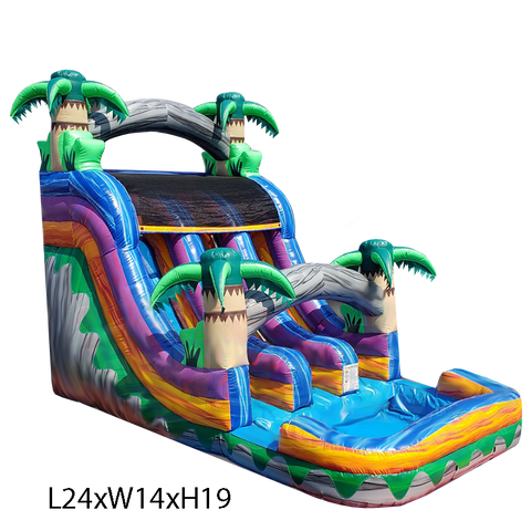 45% OFF BlackFriday Deal On 18ft Double Lane Water Slide #595