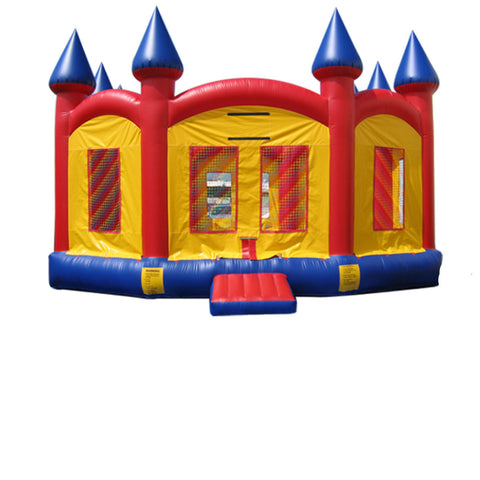 Super Size Red Castle bounce house