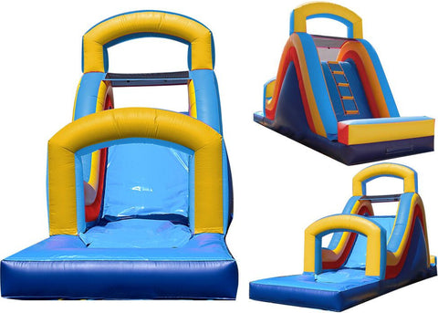 DUAL ARCH  / REAR LOD WATER SLIDE