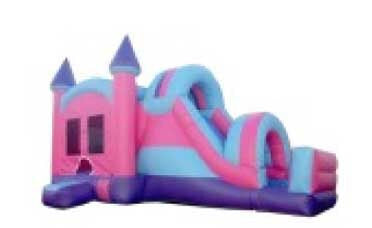 CASTLE TIP & ARCH THEME COMBO BOUNCE HOUSE # 1