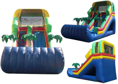 FRONT LOAD  TROPICAL RAINBOW SLIDE