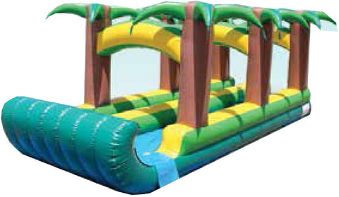 PALM TREE THEME DUAL LANE SLIP-N-SLIDE # 2