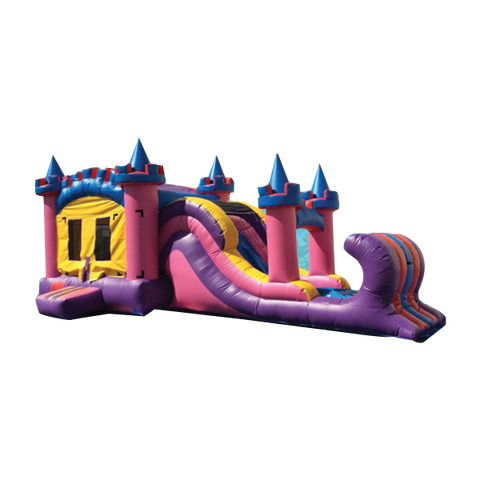 Princess Castle Combo Bounce House #1