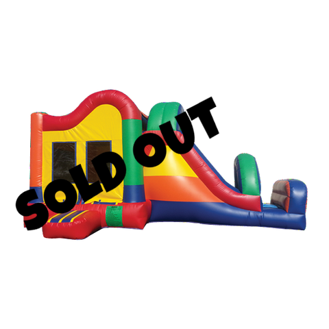 Side Pop Slide Combo Bounce House #1