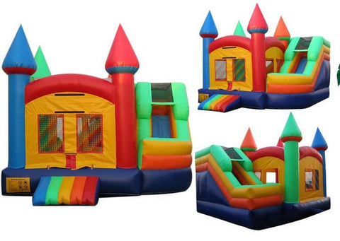 CASTLE COMPACT COMBO BOUNCE HOUSE