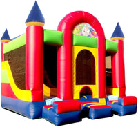 CASTLE INTERIOR COMBO  BOUNCE HOUSE # 1