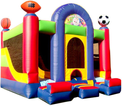 DOUBLE SPORTS INTERIOR COMBO BOUNCE HOUSE