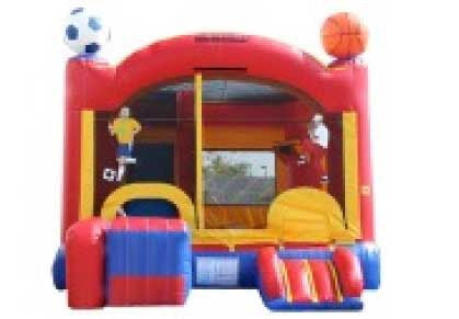 SPORTS THEME  ALL-IN-ONE COMBO #  2 BOUNCE HOUSE