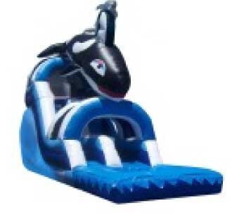 FRONT LOAD  ORCA WATER SLIDE