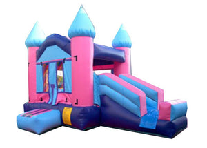 PRINCESS MINI COMBO BOUNCE HOUSE