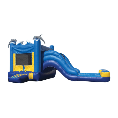 MARINE THEME COMBO BOUNCE HOUSE