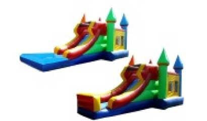 CRAYOLA THEME CASTLE --WET/DRY COMBO  BOUNCE HOUSE