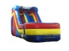 FRONT LOAD  BACKYAR WATER  SLIDE