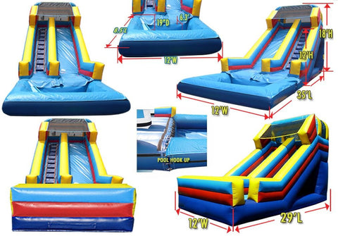 FRONT LOAD  BASIC MULTI COLOR SLIDE