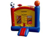 SPORTS THEME  BOUNCER / BOUNCE  HOUSE