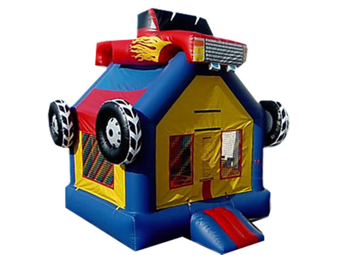 MONSTER TRUCK  THEME BOUNCE HOUSE