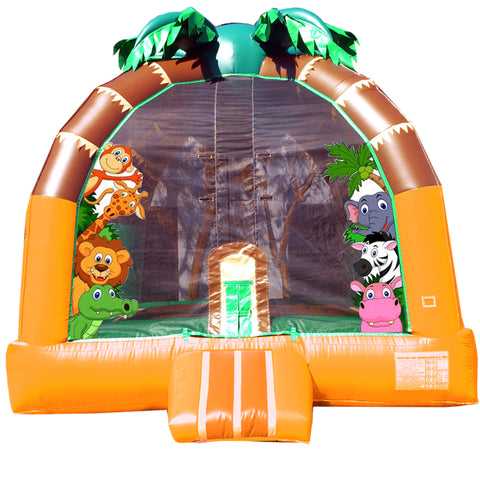 JUNGLE XL  BOUNCE HOUSE