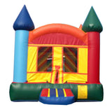 Yellow & Brown Castle Bounce House