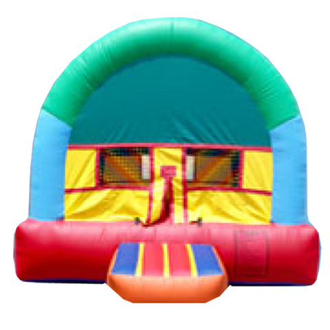 BLUE & ORANGE  ARCH THEME  BOUNCE HOUSE