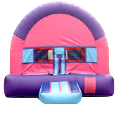 BLUE & GREEN ARCH THEME  BOUNCE HOUSE