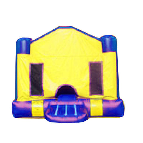 BASIC YELLOW BOUNCE HOUSE