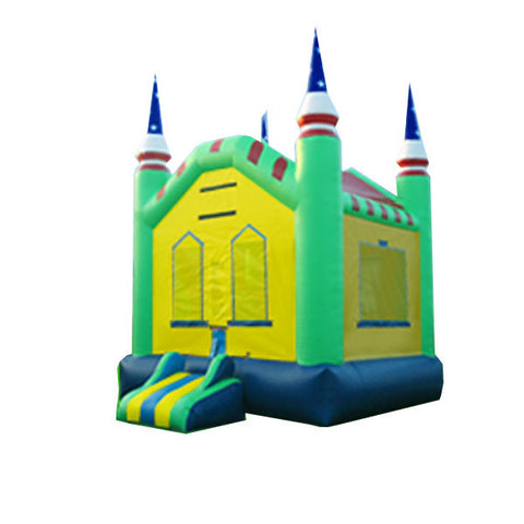 GREEN THIN TIP BOUNCE HOUSE