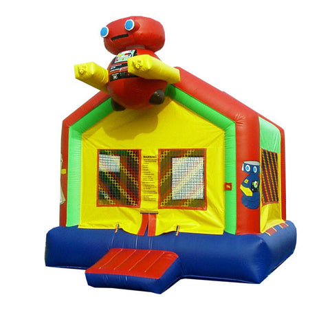 3 D   ROBOT  BOUNCE HOUSE